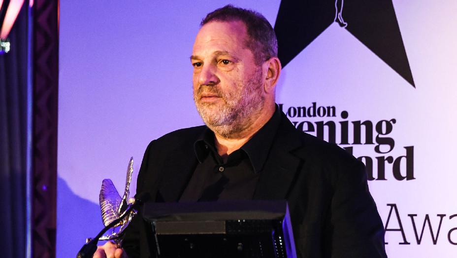 Harvey Weinstein 7 - London Evening British Film Awards - Getty - H 2017