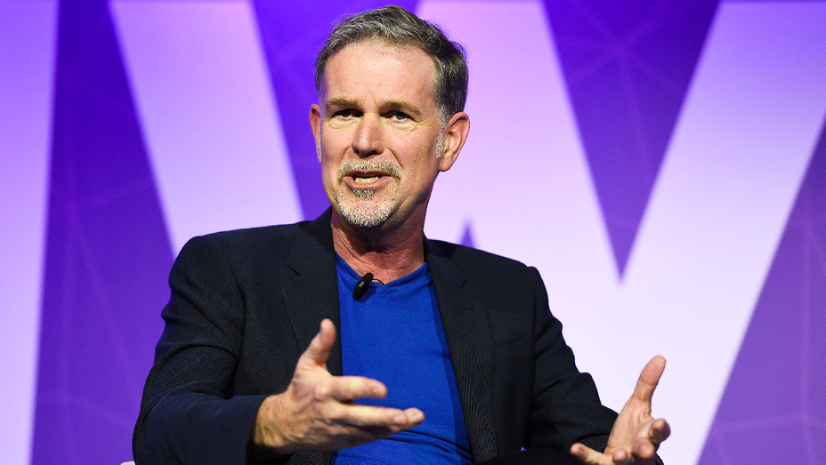 Reed Hastings - Mobile World Congress Speech in Barcelona - Getty - H 2017