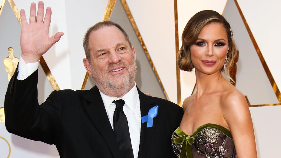 Harvey Weinstein and Georgina Chapman - 89th Annual Academy Awards - Getty - H 2017