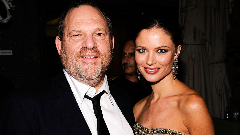 Harvey Weinstein and Georgina Chapman - 2008 Tony Awards - Getty - H 2017