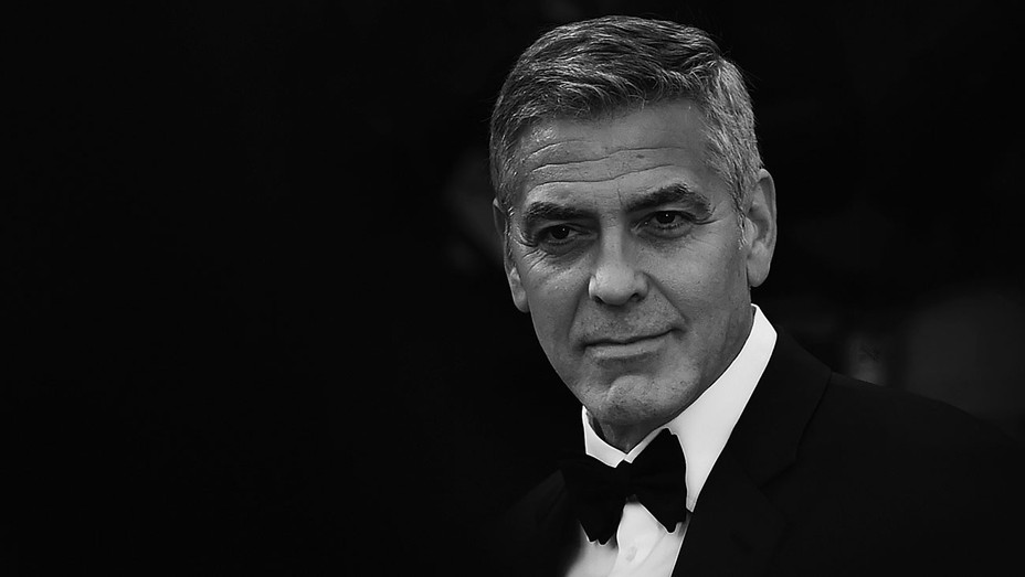 George Clooney -black and white- 74th Venice Film Festival -Getty-H 2017