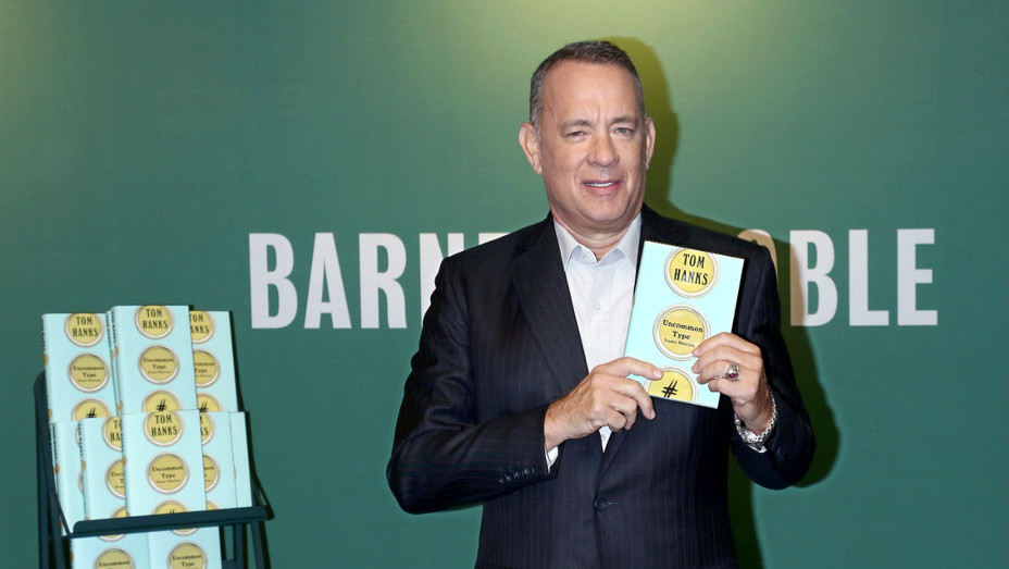 Tom Hanks Book Tour - Getty - H 2017