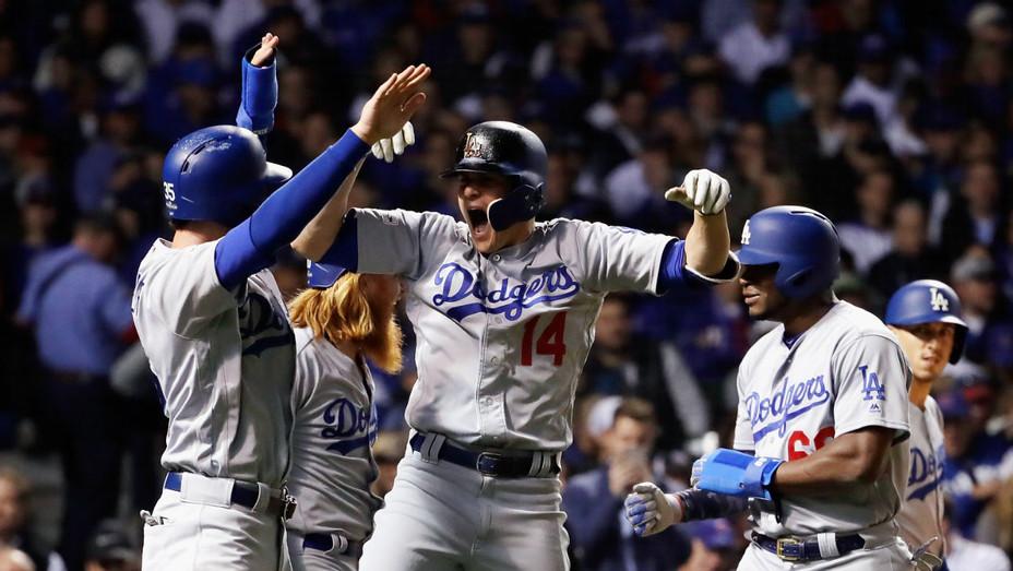 Dodgers v Cubs Game 5 2017 - Getty - H 2017