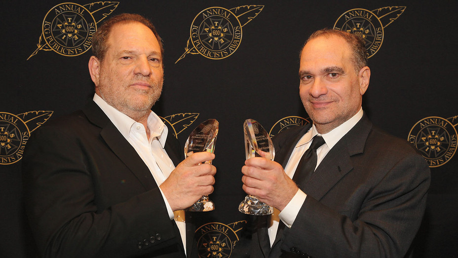 Harvey and Bob Weinstein - Getty - H 2017
