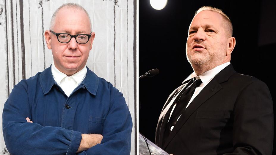 James Schamus and Harvey Weinstein - Split - Getty - H 2017