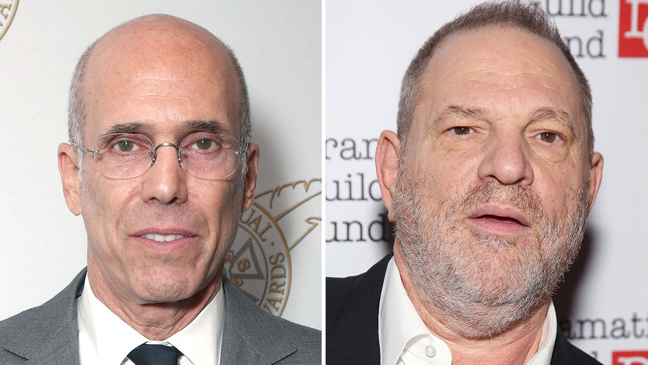 katzenberg and weinstein_Split - Getty - H 2017