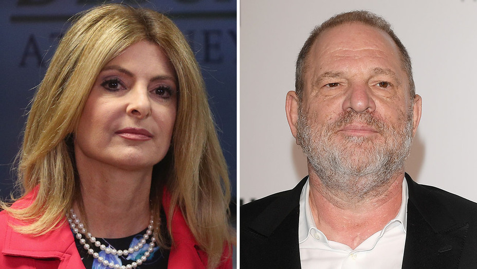 Lisa Bloom Harvey Weinstein Split - Getty - H 2017
