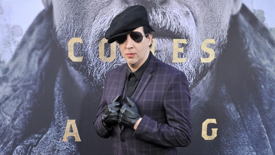 Marilyn Manson - Getty - H