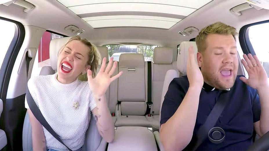 Miley Cyrus Carpool Karaoke -Screen shot -H 2017