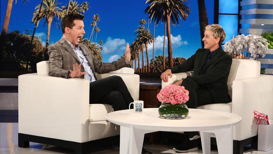 Sean Hayes on The Ellen DeGeneres Show  - Publicity-H 2017