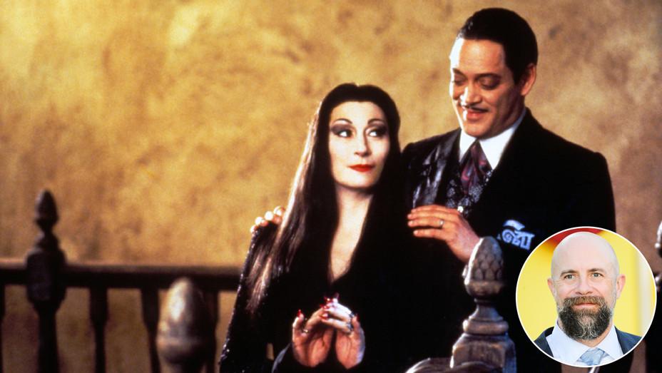 The Addams Family and Conrad Vernon - Inset - Getty - H 2017