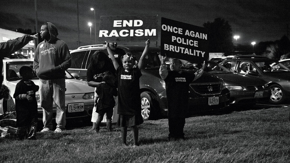 Whose Streets - Still 1 - Ferguson Missouri after the death of Michael Brown -Publicity-H 2017
