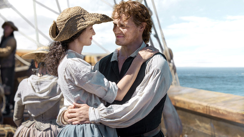 Outlander - episodic of Sam Heughan and Caitriona Balfe - Publicity -H 2017