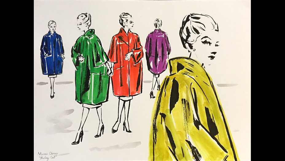 Arianne Phillips -stealing coat chorus Marnie sketches - Publicity-H 2017