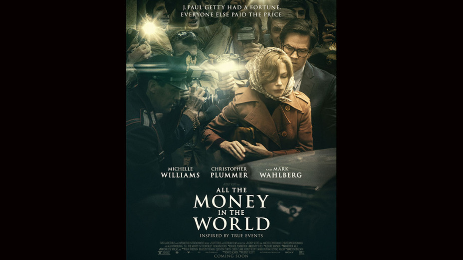 ALL THE MONEY IN THE WORLD - Poster -H 2017