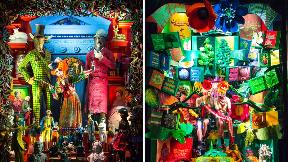 Bergdorf Goodman: Holiday Windows - Split - Publicity - H 2017