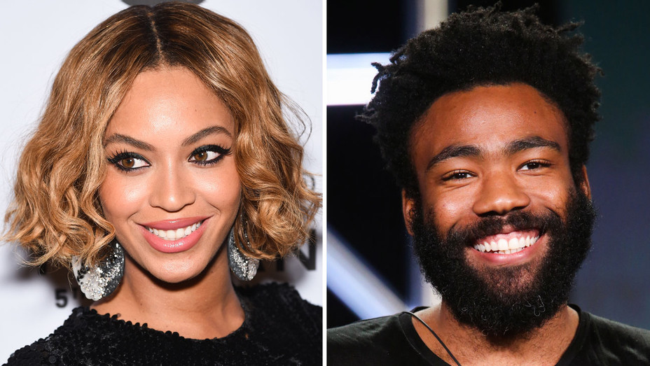 Beyonce and Donald Glover - Split - Getty - H 2017