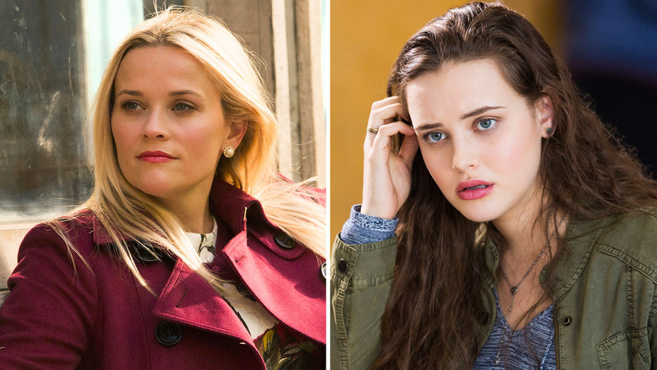 Big Little Lies and 13 Reasons Why Still - Split - Publicity - H 2017