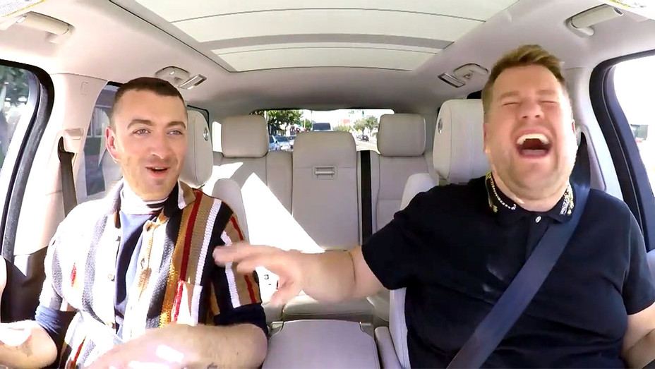 Carpool Karaoke with Sam Smith- Screen shot-H 2017