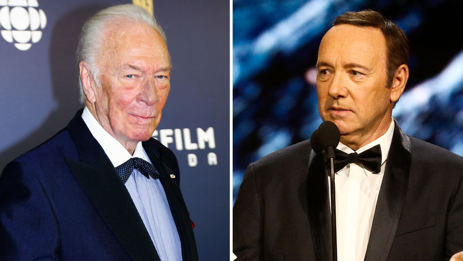 Christopher Plummer and Kevin Spacey - Split - Getty - H 2017