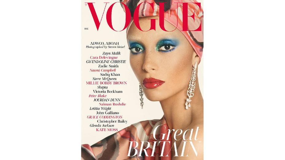 Vogue UK December Adwoa Aboah Cover - Publicity - H 2017