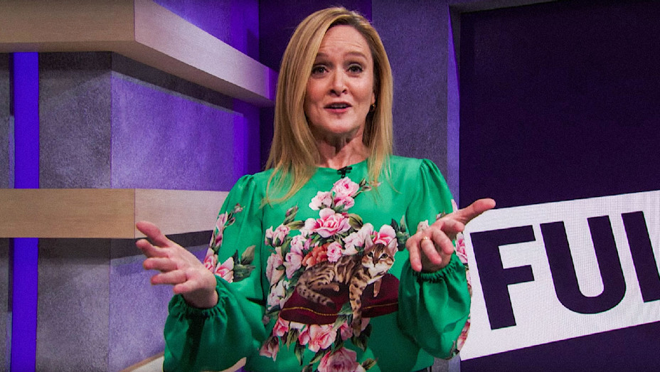 Full Frontal with Samantha Bee The Future of Comedy November 15 2017 Skit - Screenshot - H 2017