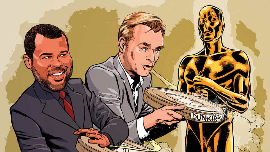 Get Out_Dunkirk_Oscars_Illo - THR - H 2017