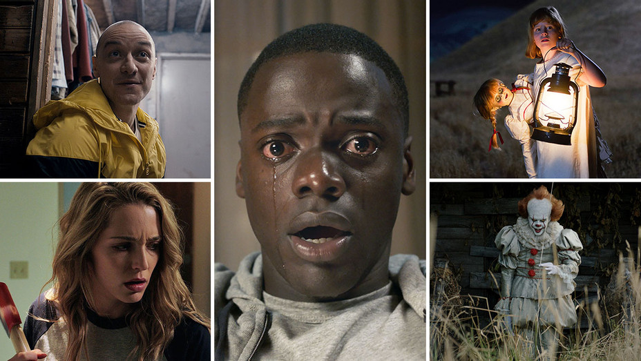 Get Out, Split, Annabelle- Creation, It and Happy Death Day_Split - Publicity - H 2017