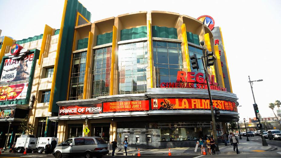 Regal Cinemas LA Live Downtown - Getty - H 2017