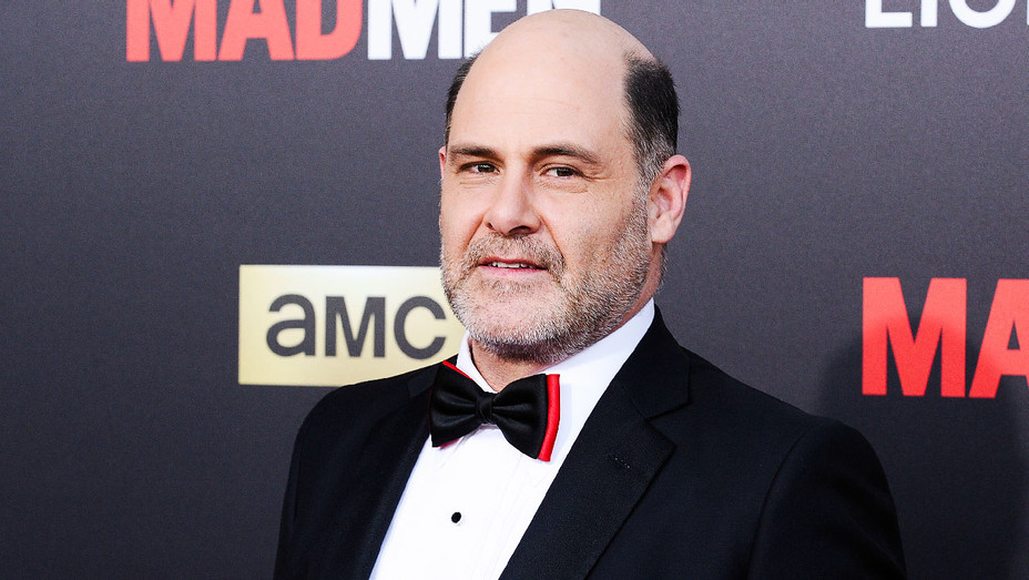 Matthew Weiner - 2015 Mad Men Black & Red Ball - Getty - H 2017
