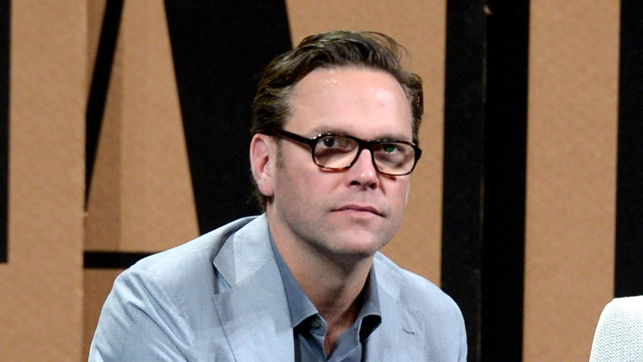 """James Murdoch speaks onstage during """"Fox and the Future"""" - Getty -  H 2017"""