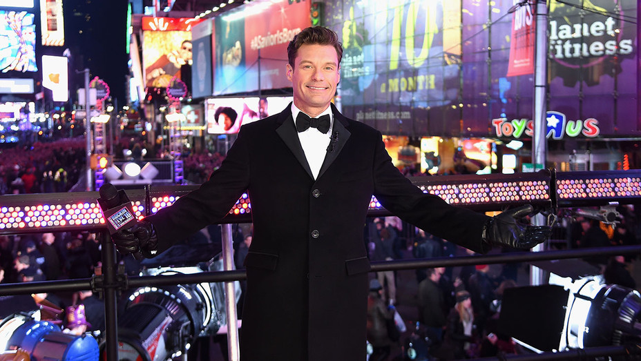 Ryan Seacrest attends the Dick Clark's New Year's Rockin' Eve with Ryan Seacrest 2016  - Street View- Getty-H 2017