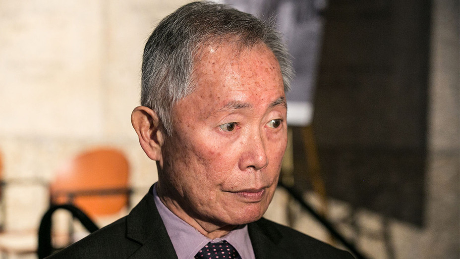 George Takei - Japanese American National Museum Press Conference - Getty - H 2017