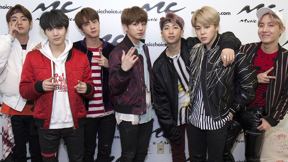 South Korean boy band BTS - Getty-H 2017