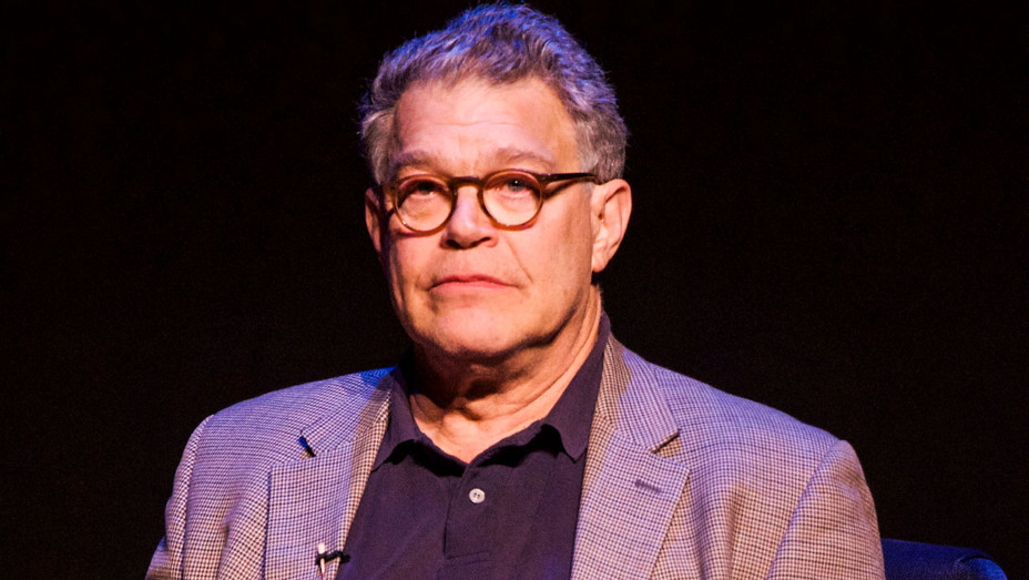 Al Franken - The Wallis and Writers Bloc Stage Talk - Getty - H 2017