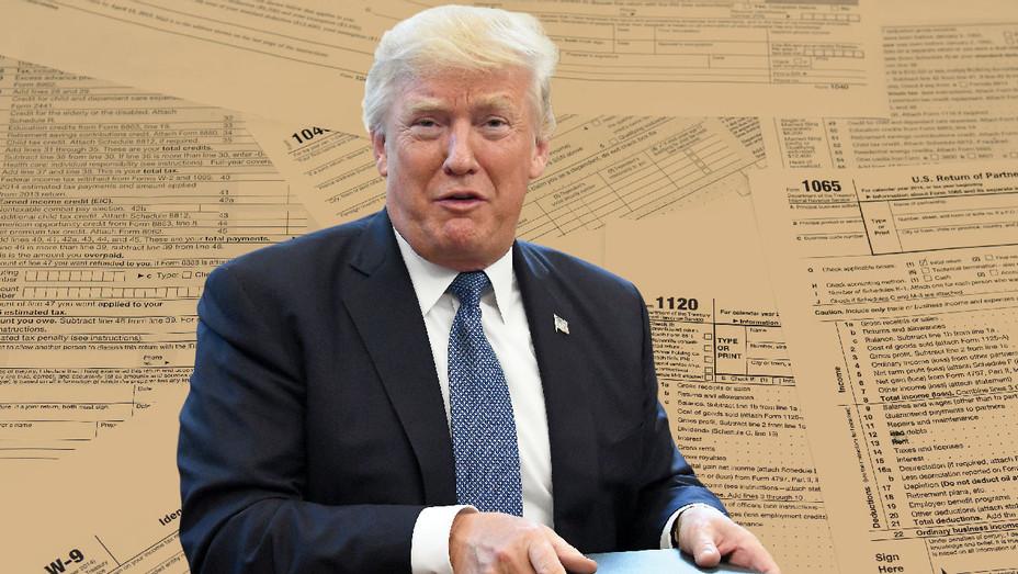 Donald Trump - Photo Illustration - Getty - H 2017