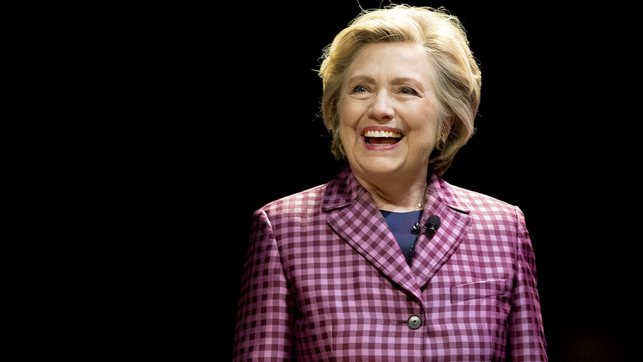 Hillary Clinton is interviewed by Mariella Frostrup- October 15, 2017 - Getty-H 2017