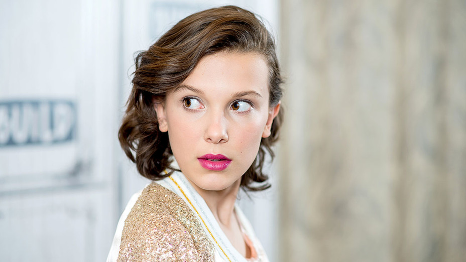 Millie Bobby Brown - Build Series - Getty-H 2017