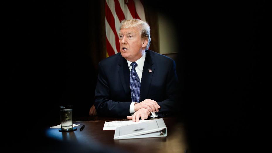 Donald Trump - Cabinet Meeting November 2017 - Getty - H 2017