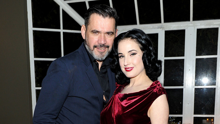 Roland Mouret and Dita Von Teese attend Roland Mouret's The Dinner of Love -Publicity-H 2017
