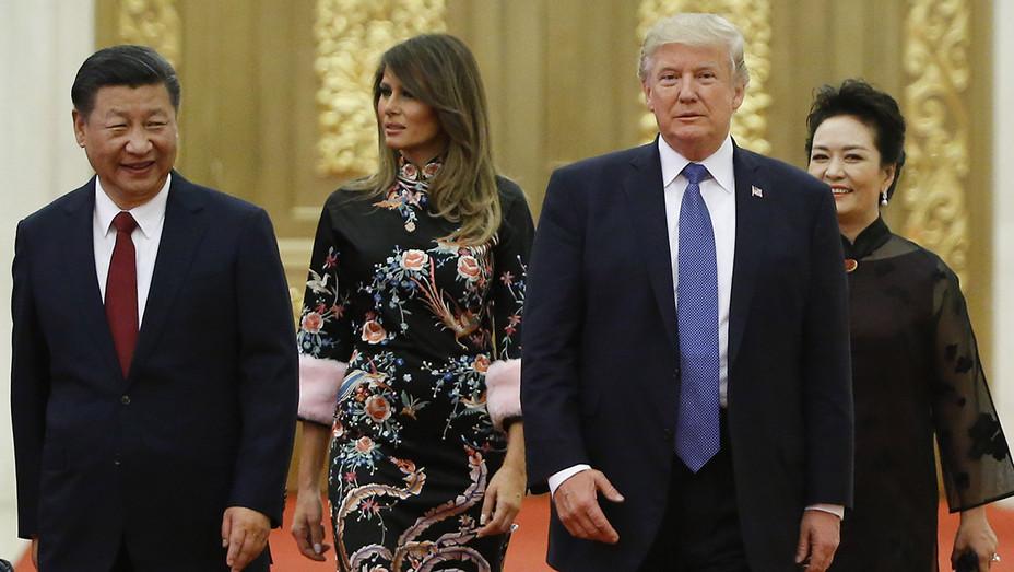 Trump visits China - Getty - H 2017