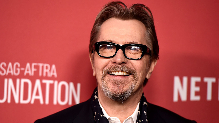 Gary Oldman attends the SAG-AFTRA Foundation Patron of the Artists Awards 2017  -Getty-H 2017