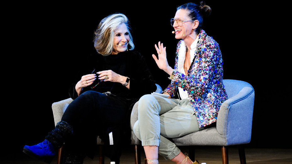 Sheila Nevins and Jenna Lyons - Glamour Women of the Year 2017 Talk - Getty - H 2017