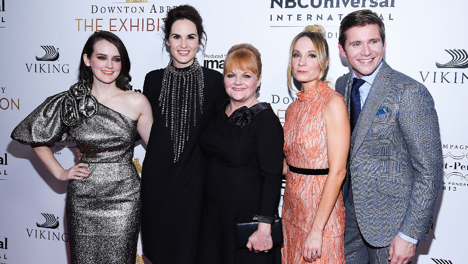 Downton Abbey: The Exhibition Gala Reception Cast - Getty - H 2017