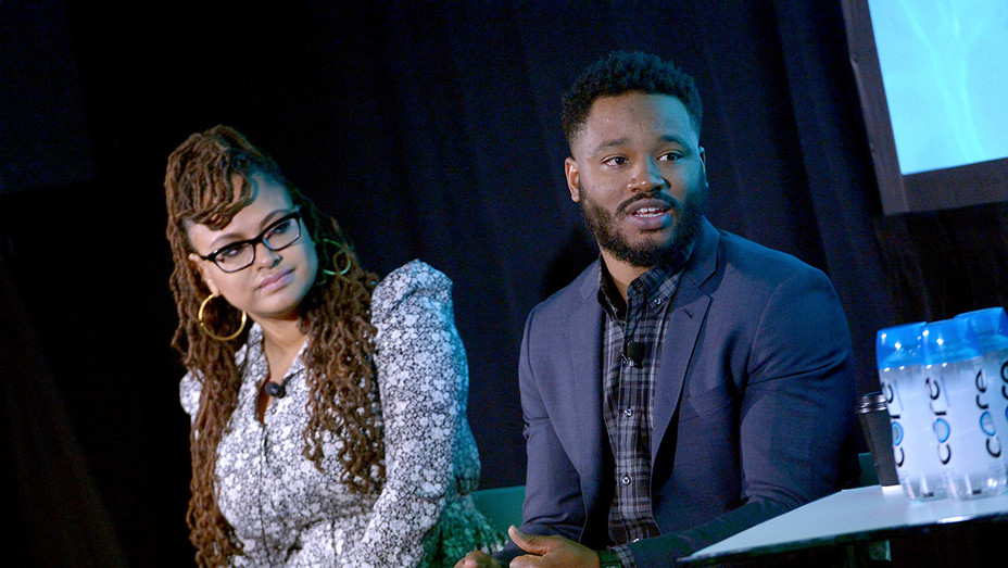 Ava DuVernay and Ryan Coogler at Vulture Fest - H Getty 2017