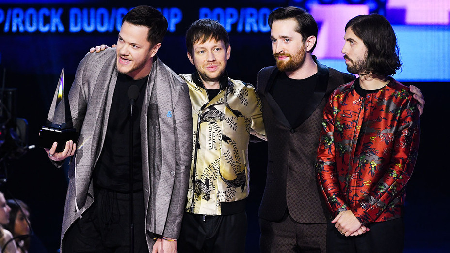 Imagine Dragons Win - 2017 AMAs - Getty - H 2017