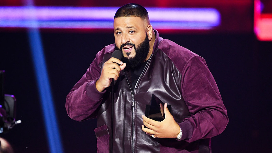 DJ Khaled - AMAS Win - Getty - H 2017