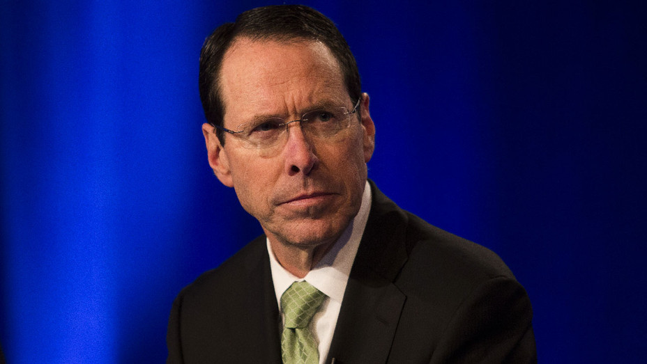 Randall Stephenson - Time Warner News Conference - Getty - H 2017