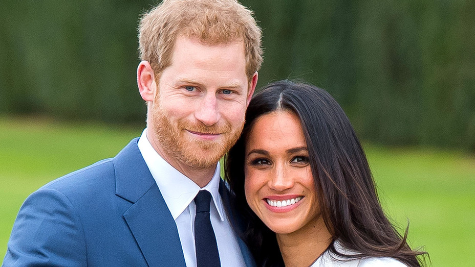 Harry and Meghan Markle -  official photocall to announce their engagement 3 - Getty-H 2017