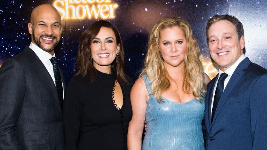 Meteor Shower Keegan-Michael Key, Laura Benanti, Amy Schumer and Jeremy Shamos - Getty - H 2017